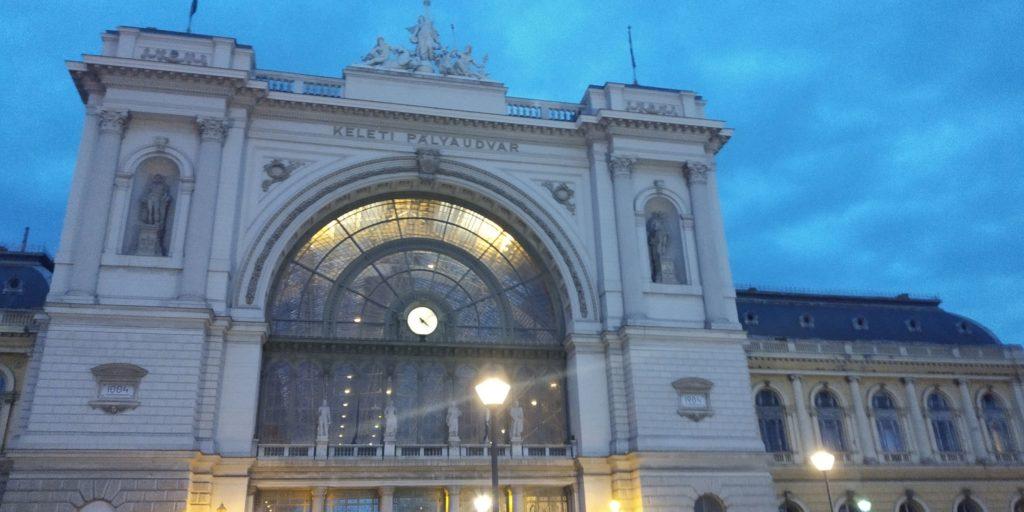Nádraží Budapest Keleti